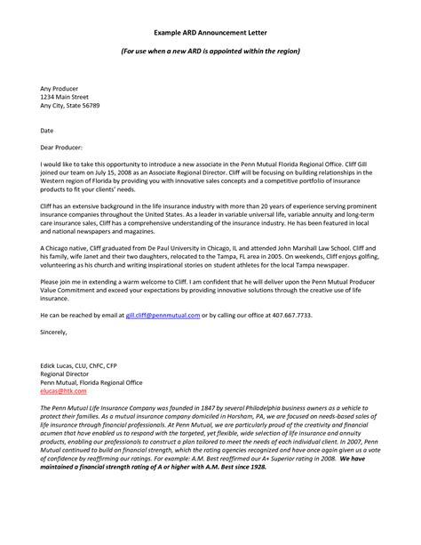 best photos of business introduction letter sle sales