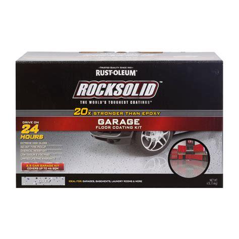 Garage Bausatz Massiv by Rust Oleum Grey Rocksolid Garage Floor Coating 2 5 Car