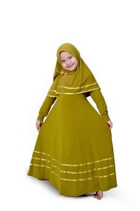 Gamis Anak Qrana pilihan baju muslim anak perempuan yang fashionable untuk
