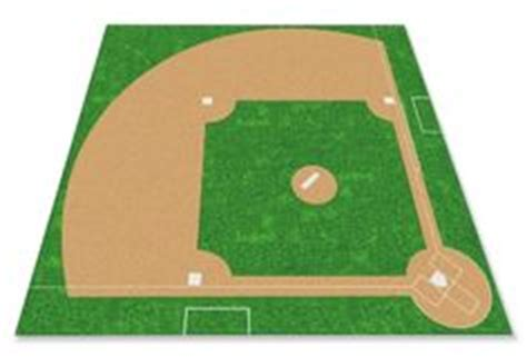 Football Rug Go With The Flow by 1000 Ideas About Baseball Field On