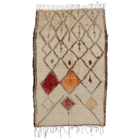 azilal rug vintage moroccan azilal berber rug 4 4 quot x 6 9 quot at 1stdibs
