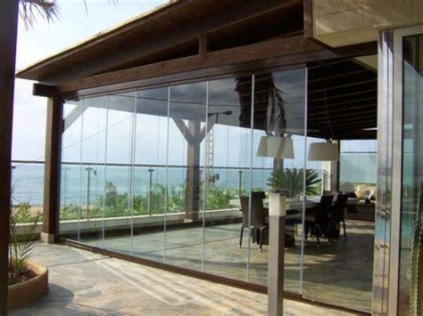 cierre de terraza dialum cristales especiales  industria inmobiliaria