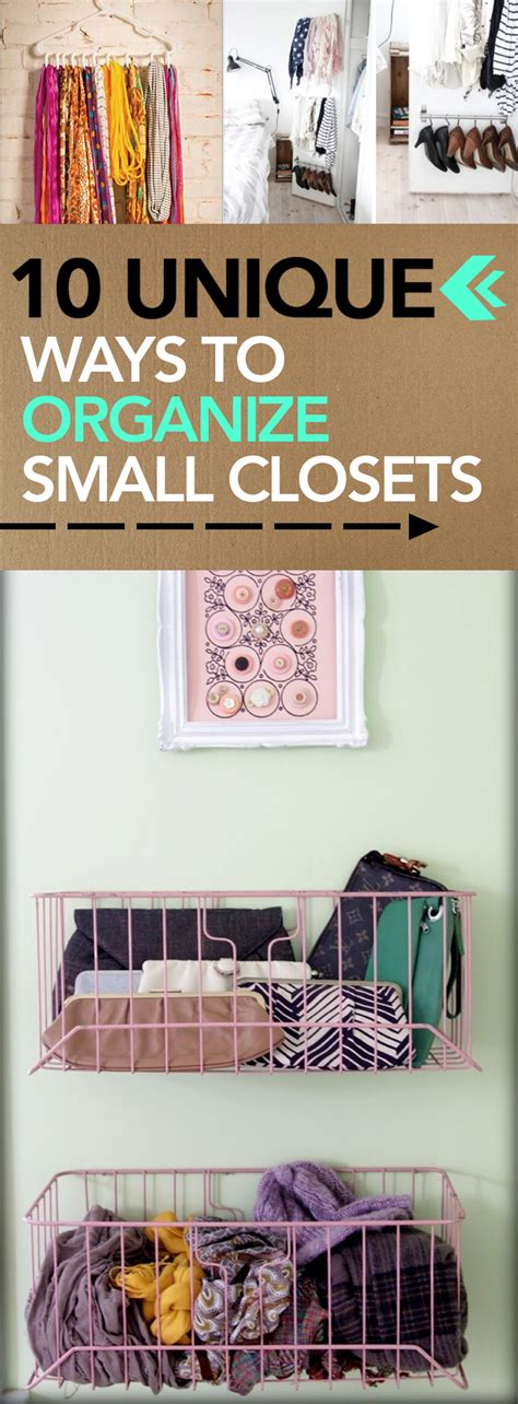 small closet hacks 10 unique ways to organize small closets page 3 of 11