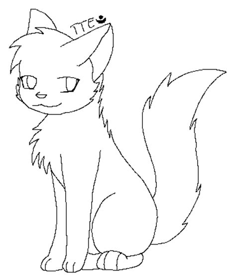 warrior cat template cat template by twilighttheeevee on deviantart