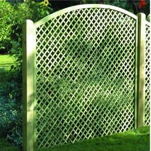 Wooden Trellis Panels Convex Fence Panel Lattice Trellis Panel Wooden Supplies