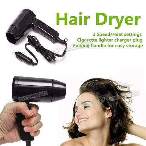 Hair Dryer For Car car hair dryer 12v caravan motorhome portable folding