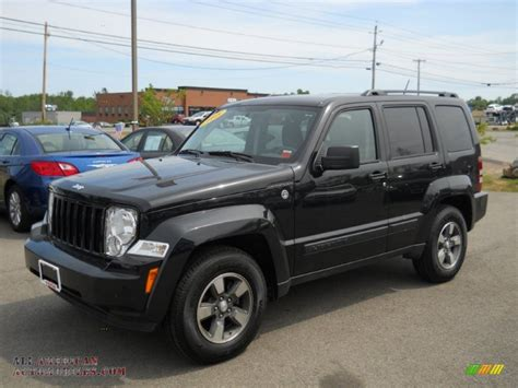 jeep liberty 2008 2008 jeep liberty sport 4x4 in brilliant black