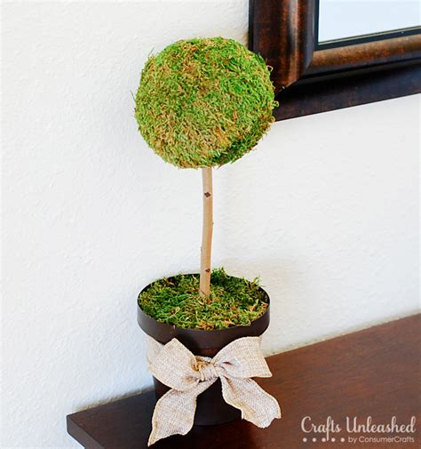 make a topiary how to make a moss topiary tree
