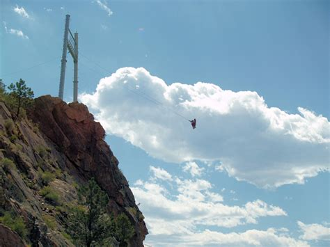 royal gorge bridge swing photos
