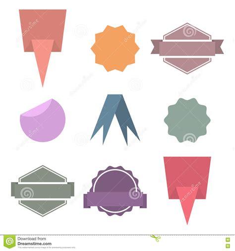 paper design elements 25 vector set paper design elements vector illustration stock
