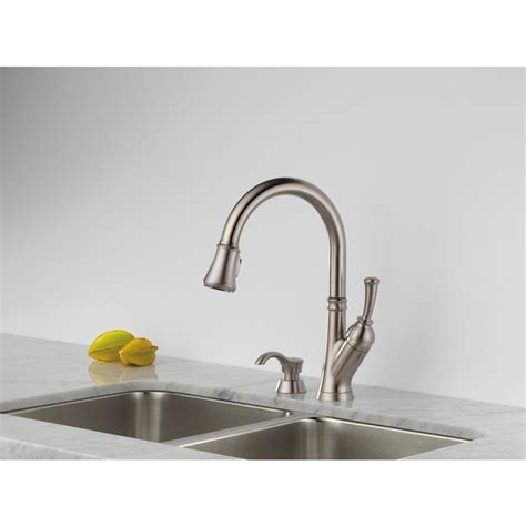 delta savile stainless 1 handle pull down kitchen faucet delta savile stainless 1 handle pull down kitchen faucet parts wow blog