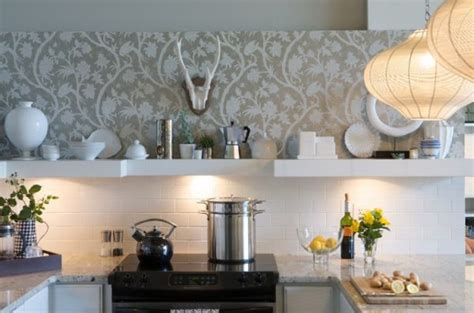 wallpaper in kitchen ideas how to choose the right wallpaper