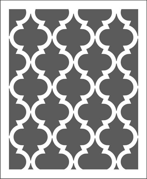 moroccan pattern wall stencil moroccan wall stencil pattern choose size hole large