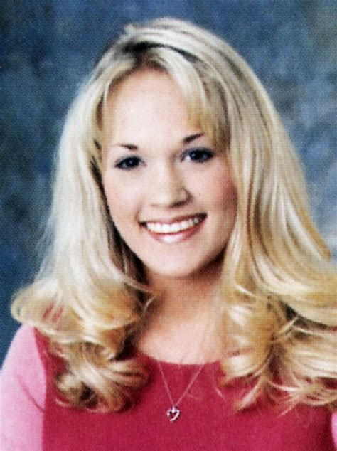 carrie underwood lovecelebrity celebrity yearbook see what your favorite stars looked