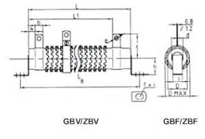 resistor zrf resistor zrf 28 images wire power resistors pipes dacpol sigma wirewound brake resistors