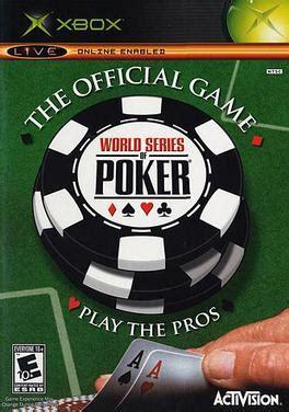 world series  poker video game wikipedia