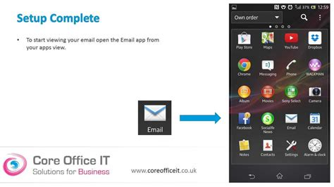 Office 365 Outlook Android Set Up Microsoft Office 365 On Your Android Mobile Phone