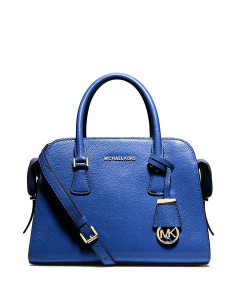 M Hael Kors Bag Blue by Michael Michael Kors Leather Satchel Bag In Blue