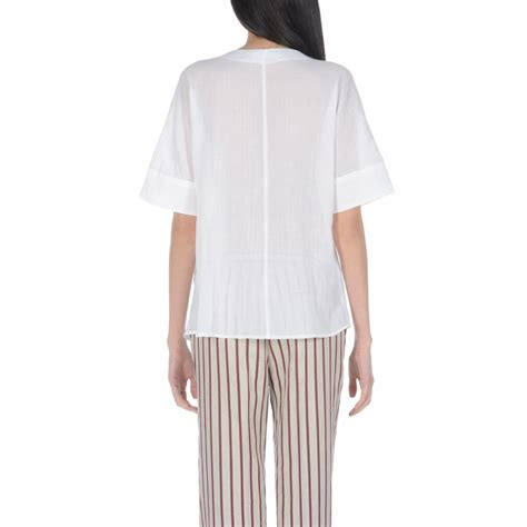 Gap White Pleated Blouse 301 moved permanently