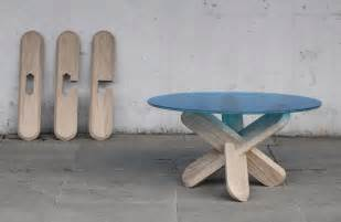 Floor And Decor Plano mesa con patas de madera atravesadas