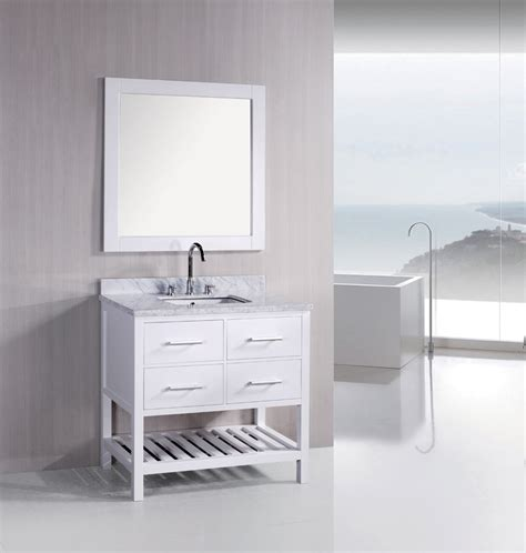 Bathroom Vanity Styles White Bathroom Vanities Are Prisms Of Sophistication