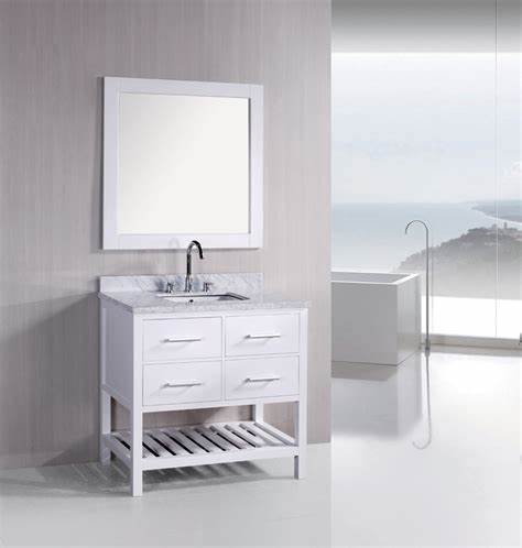 white vanity bathroom ideas 2016   Grasscloth Wallpaper