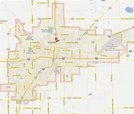 amarillo map of amarillo map and amarillo satellite image