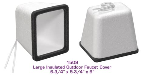 Insulated Outdoor Faucet Cover by Age Products Large Insulated Outdoor Faucet Cover