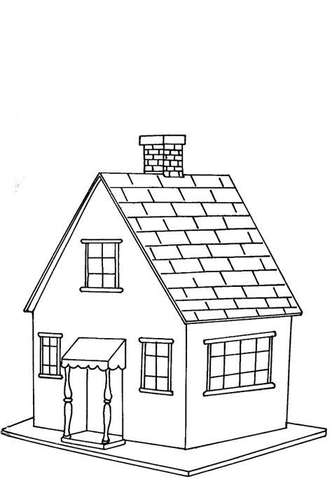 pueblo house coloring page casas para colorear dibujos infantiles imagenes cristianas