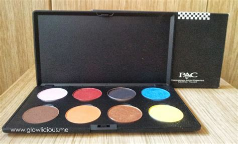 Pac Eyeshadow Pearly Palette by Pac Eyeshadow Pearly Palette Review Swatches Photos