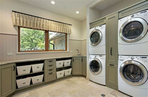 Room Appliances by How To Optimize Stacked Washers And Dryers For A Combo