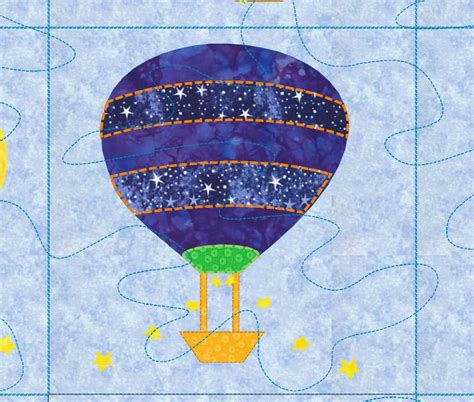 air balloon pattern baby quilt pattern hot air balloon up up and away