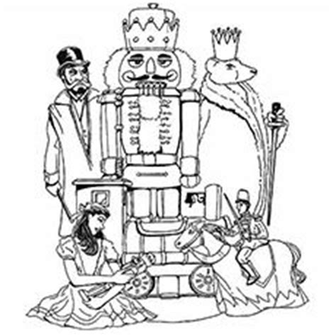 nutcracker suite coloring pages key words holiday the nutcracker literacy integrate