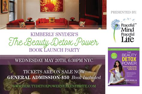 Detox Power Book by You Re Invited Join Me For My Nyc Detox Power