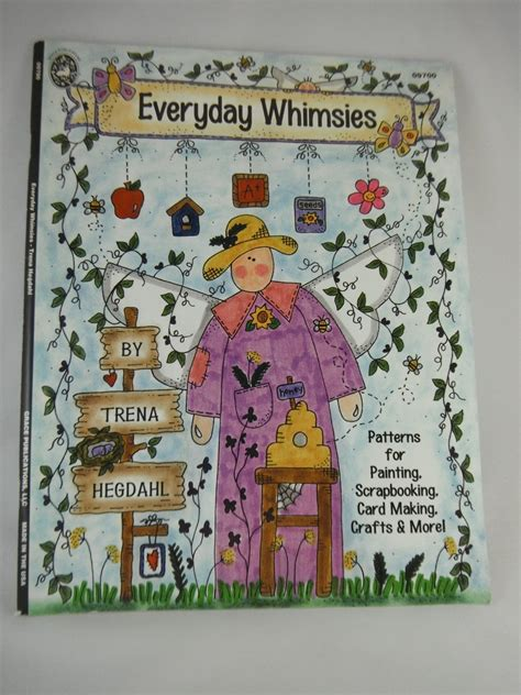 watercolor florida pattern book everyday whimsies pattern book by trena hegdahl for