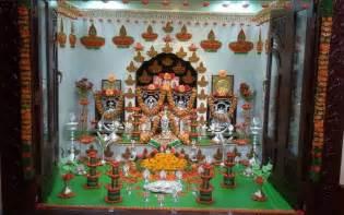 how to decorate mandir at home pooja room decoration ideas for varalakshmi pooja room
