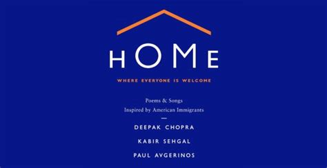 home where everyone is welcome with deepak chopra