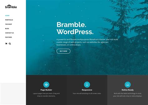 themes com bramble wordpress theme siteorigin
