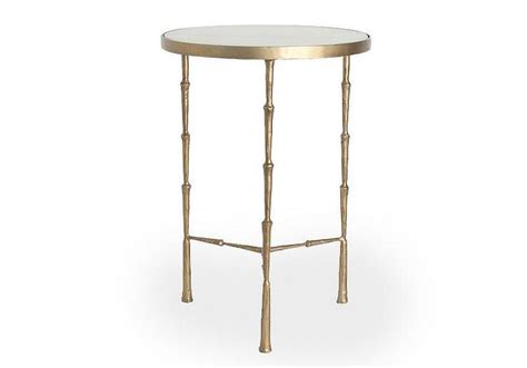 white marble accent table threshold grey marble top accent table