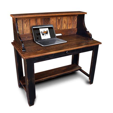 Shelf On Top Of Desk by Classique Desk W Shelf Top No 2