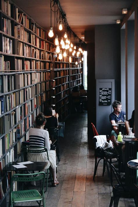 coffee shop design book used book cafe at merci paris by lorenzo basile