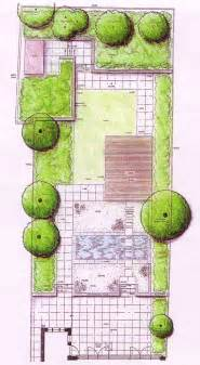 Garden Layouts Designs Contemporary Garden With Formal Pool Tim Mackley Garden Design