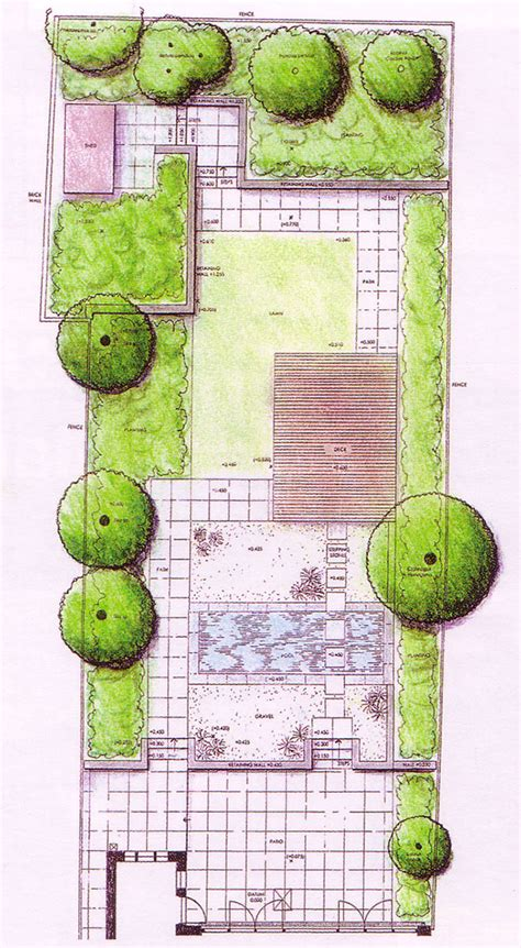 backyard layout planner garden in pixmine garden plans