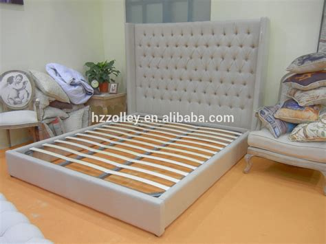 Big Headboard Beds Hotel Room Furniture King Size Bed Wholesale Fabric Upholstered Big Headboard Beds Buy King