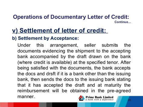 Pre Acceptance Letter Of Credit Lc Procedure Hrtdc 1