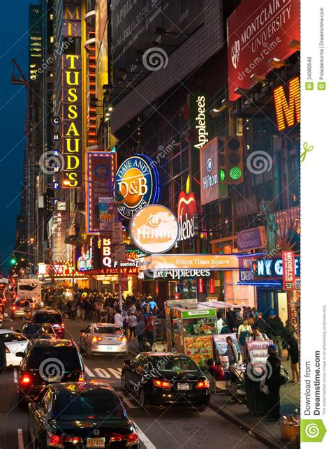 Razorlight New York Show May 10th Only Us Show Till The Fall Details Belowand Maybe Youll Catch Kirsten D by Traffic And Crowds Along 42nd In Times Square