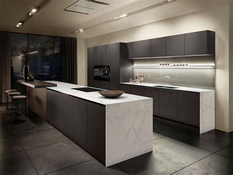 cuisine pur馥 siematic minimalist kitchen design maximum precision