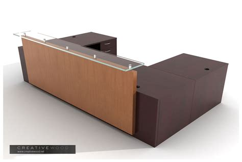 u shaped reception desk reception