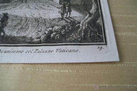 vasi de roma porta giuseppe vasi siglo xviii grabad comprar