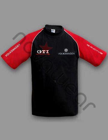 volkswagen gti  shirt blackred volkswagen clothing